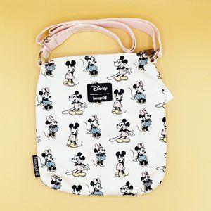 Loungefly Mickey & Minnie Pastel Crossbody Bag